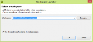 Workspace Launcher