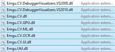 Emgu CV Reference DLL