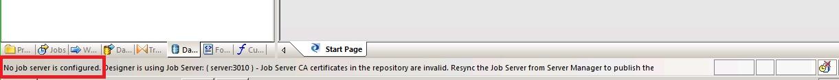 BODS Repository Configuration 7