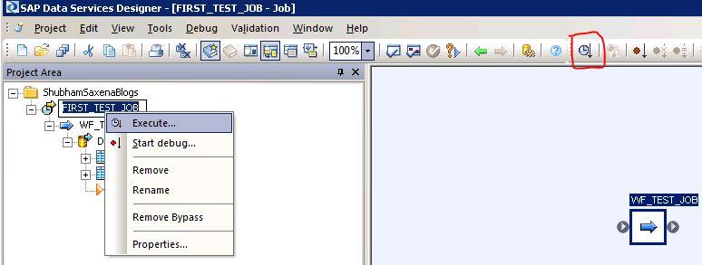 SAP BODS JOB 20
