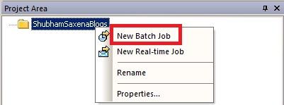 SAP BODS JOB 3