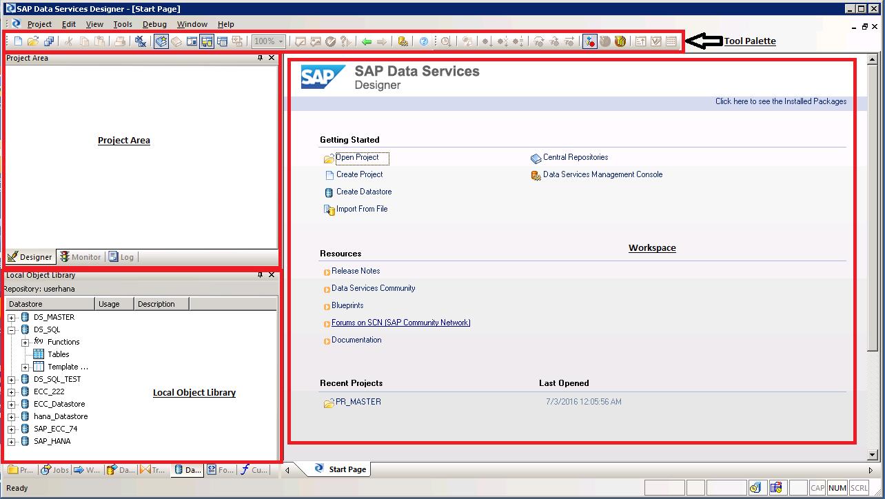 SAP BODS Job Designer Overview