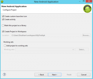 Configure Android Project